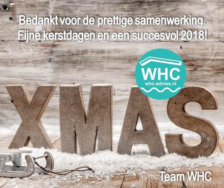Kantoor WHC gesloten tussen Kerst en Oud en Nieuw
